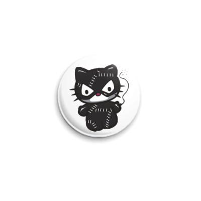 Значок 25мм Китти Женщина-кошка