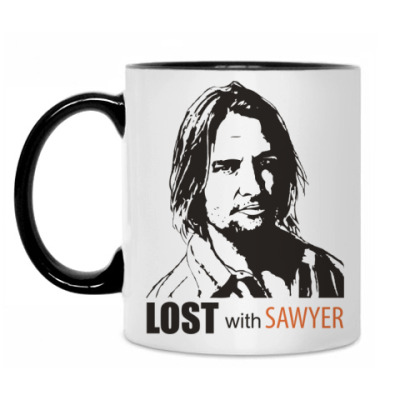 Кружка Lost with Sawyer