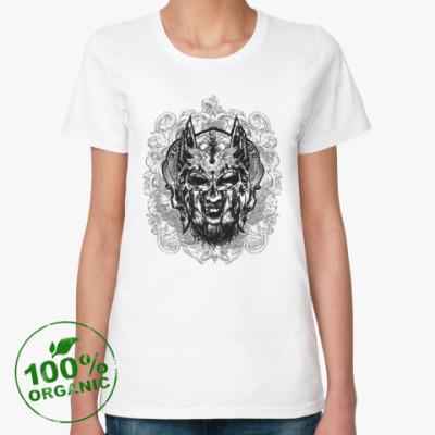 Женская футболка из органик-хлопка Тор (сын Одина)