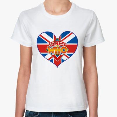 Классическая футболка Doctor Ху