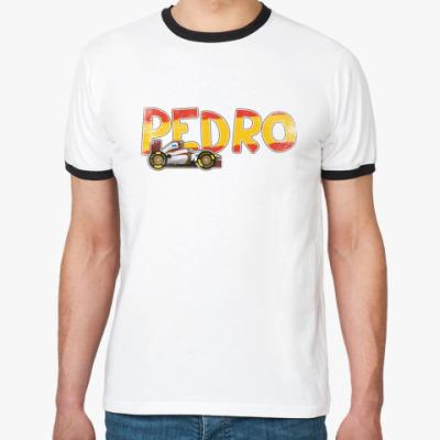 """Футболка Ringer-T """"PEDRO""""."""