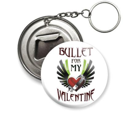 Брелок-открывашка Bullet for my Valentine