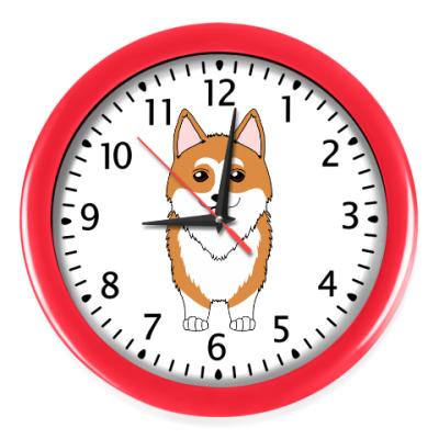 Настенные часы Корги Рядом
