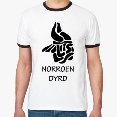 Футболка Ringer-T Norroen Dyrd