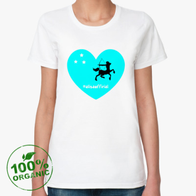 Женская футболка из органик-хлопка AlisaOfficial