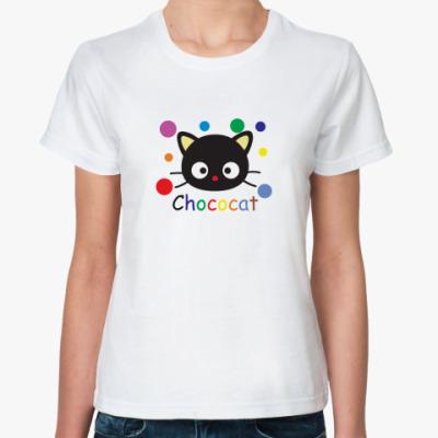 Классическая футболка Chococat