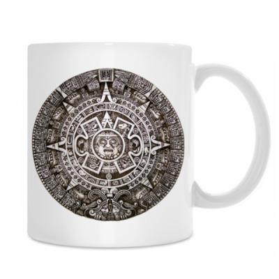 Кружка `Календарь ацтеков`