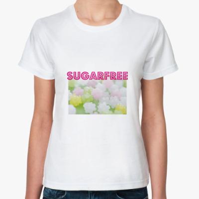Классическая футболка 'Sugarfree'