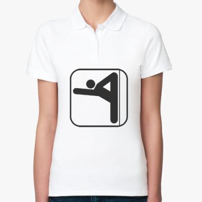 Женская рубашка поло Пилон