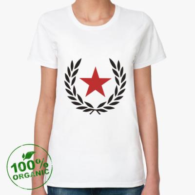 Женская футболка из органик-хлопка 'Star!'