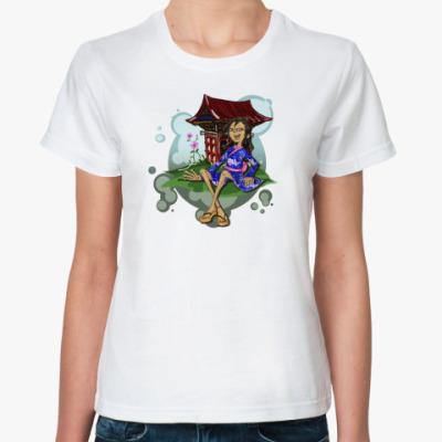 Классическая футболка Японочка