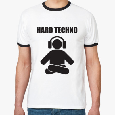 Футболка Ringer-T   tech hard
