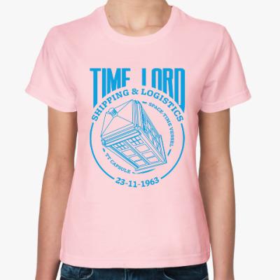 Женская футболка Time Lord