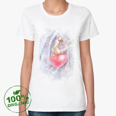 Женская футболка из органик-хлопка Амур