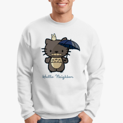 Свитшот Hello Totoro
