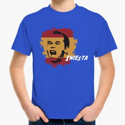 Детская футболка Иньеста