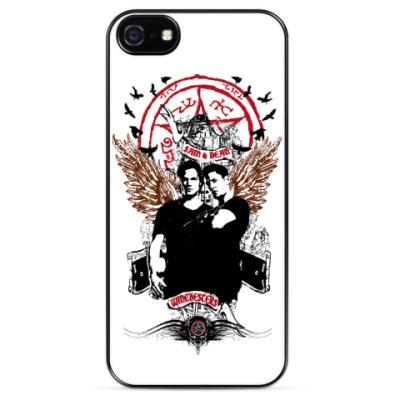 Чехол для iPhone Сэм и Дин - Supernatural