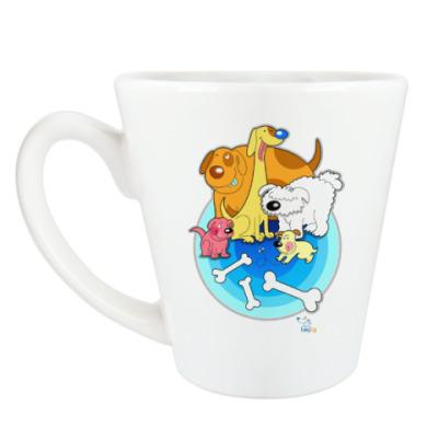 Чашка Латте Собаки