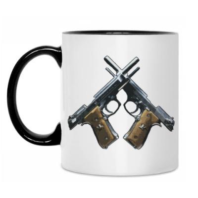 Кружка Пистолеты