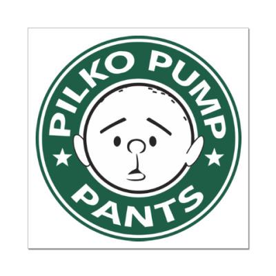 Наклейка (стикер) Pilko Pump