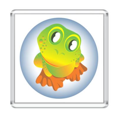 Магнит  Лягушка