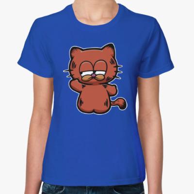 Женская футболка Китти Гарфилд