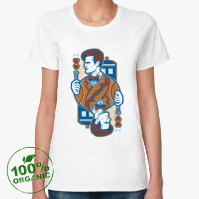 Женская футболка из органик-хлопка Одиннадцатый Доктор
