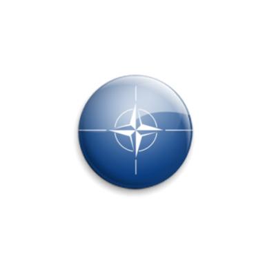 Значок 25мм NATO