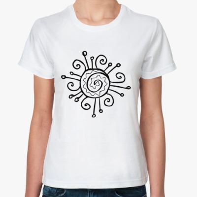 Классическая футболка Crazy sun