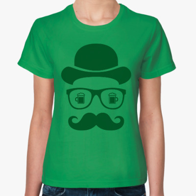 Женская футболка Хипстер