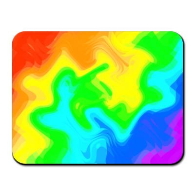 Коврик для мыши Все цвета радуги