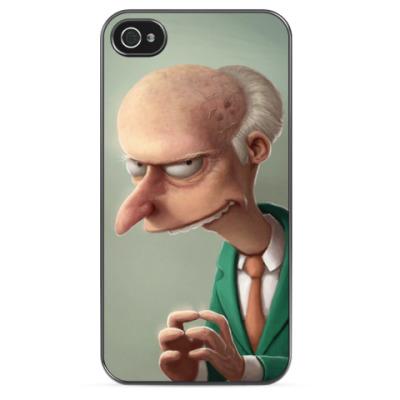Чехол для iPhone Mr.Burns