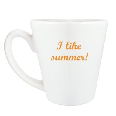 Чашка Латте 'Summer'
