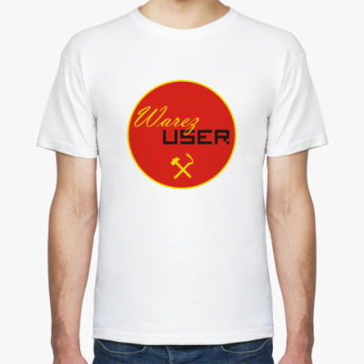 Футболка  футболка Warez User