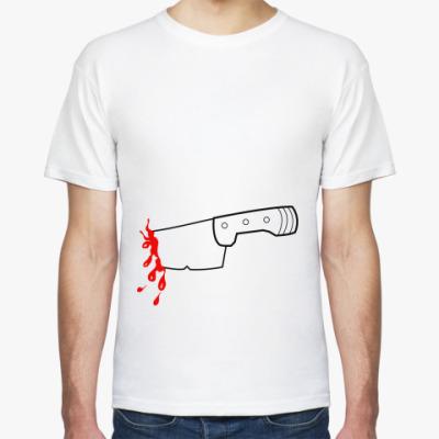 Футболка Нож