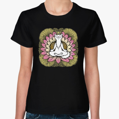 Женская футболка Хорошая карма
