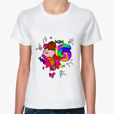 Классическая футболка Sweetty