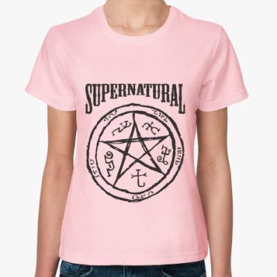 Женская футболка Devil's Trap - Supernatural