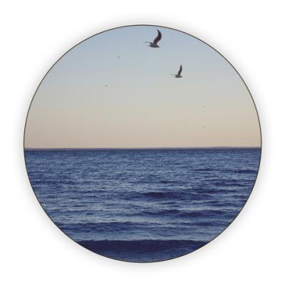 Костер (подставка под кружку)  Море