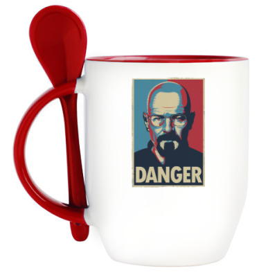 Кружка с ложкой Walter danger