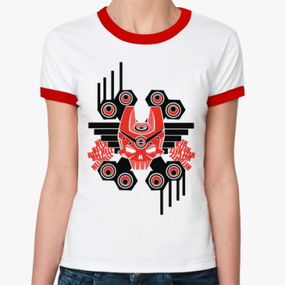 Женская футболка Ringer-T Hell  ж ()