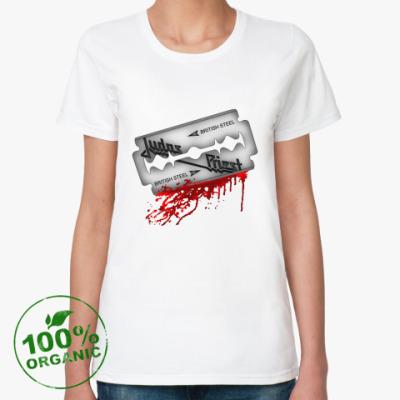 Женская футболка из органик-хлопка Judas Priest