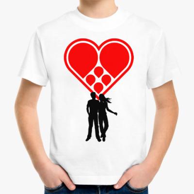 Детская футболка Любовная пара