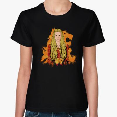 Женская футболка Серсея Ланнистер