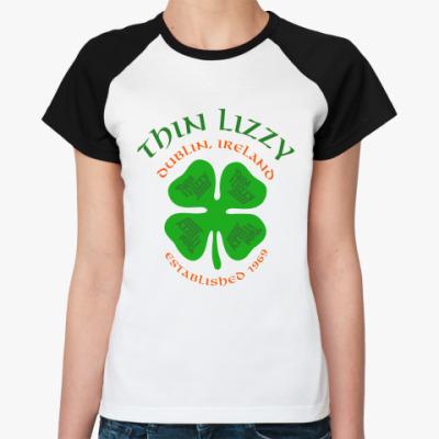 Женская футболка реглан Thin Lizzy