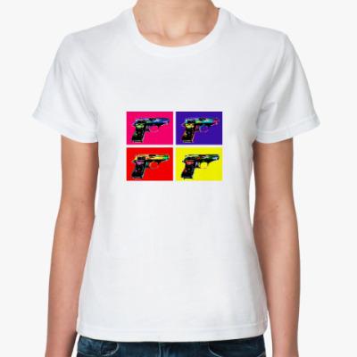 Классическая футболка ПОП-АРТ GUNS