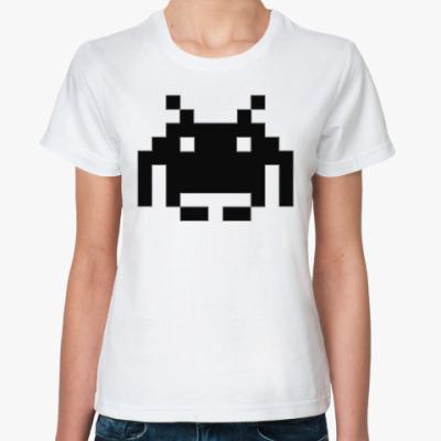 Классическая футболка Пришелец