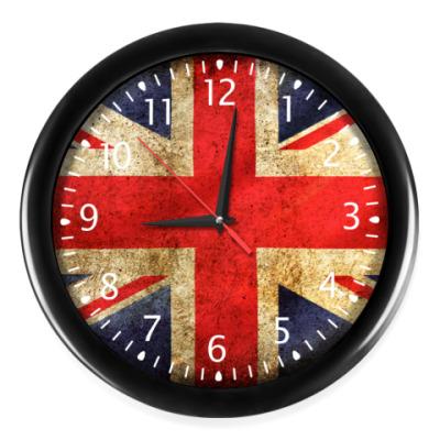 Часы Британский Флаг (Union Jack)