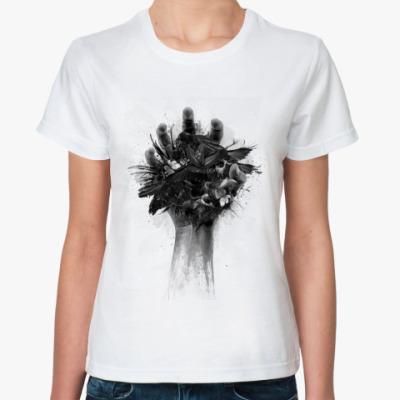 Классическая футболка  футболка Hand