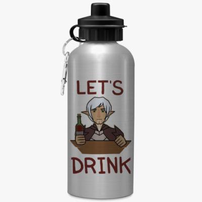 Спортивная бутылка/фляжка Фенрис Собутыльник